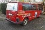 VW Bus für die SCM-Rennmannschaft