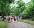 Start zum 7 km-Lauf für das Sportabzeichen